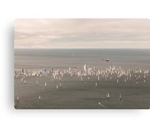 Barcolana regatta of Trieste Canvas Print