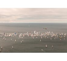 Barcolana regatta of Trieste Photographic Print