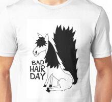Bad Hair Day Horse Unisex T-Shirt