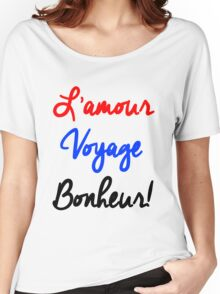 EXO - L'Amour Voyage Bonheur Women's Relaxed Fit T-Shirt