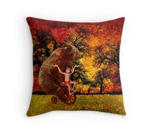 The Honey Bear with Geek Boy iPhone 4 4s 5 5c 6, pillow case, mugs and tshirt  Throw Pillow