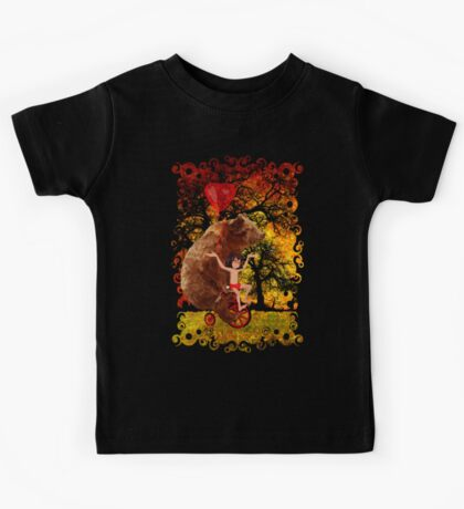 The Honey Bear with Geek Boy iPhone 4 4s 5 5c 6, pillow case, mugs and tshirt  Kids Tee