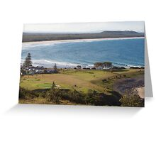 Crescent Head - Golf Course and Bay Greeting Card
