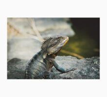 Australian Eastern Water Dragon Lizard Kids Tee