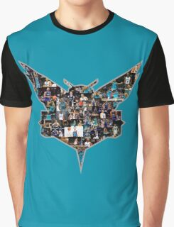 Charlotte Hornets Logo Edited #2 Graphic T-Shirt
