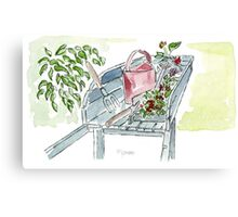 You just gotta love garden tools! Canvas Print