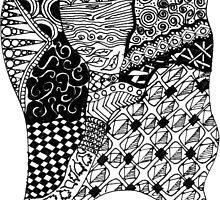 Zen-tangle #3 by brickinthewall