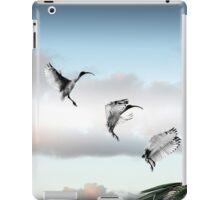 make way! (ibis landing sequence) iPad Case/Skin
