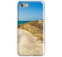 italian seaside in a summer day iPhone Case/Skin