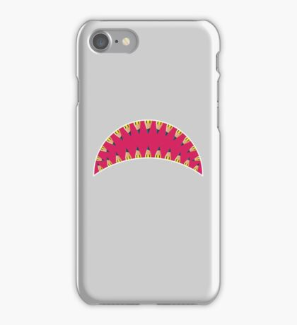 Pencil toothed shark mouth iPhone Case/Skin