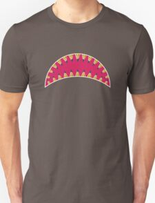 Pencil toothed shark mouth Unisex T-Shirt