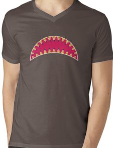 Pencil toothed shark mouth Mens V-Neck T-Shirt