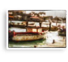 Aruban Quay  Canvas Print