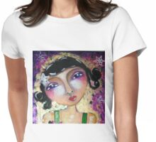 Being unique.. Womens Fitted T-Shirt