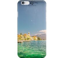 Hotels on the lake Garda iPhone Case/Skin