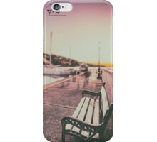 evening in the port of Muggia (Trieste) iPhone Case/Skin