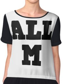 All Might - All M Chiffon Top