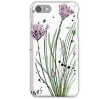 Culinary Herbs - Chives iPhone Case/Skin