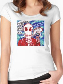 Skeletons Are Cool Women's Fitted Scoop T-Shirt