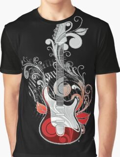The flower guitar  Graphic T-Shirt