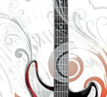 The flower guitar  Sticker