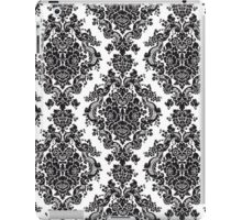Black and White Damask iPad Case/Skin