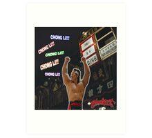 Bloodsport (1988) - Chong Li! Chong Li Art Print