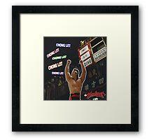 Bloodsport (1988) - Chong Li! Chong Li Framed Print