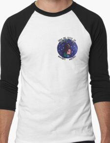 Hold Me Close In Winter's Weather Men's Baseball ¾ T-Shirt