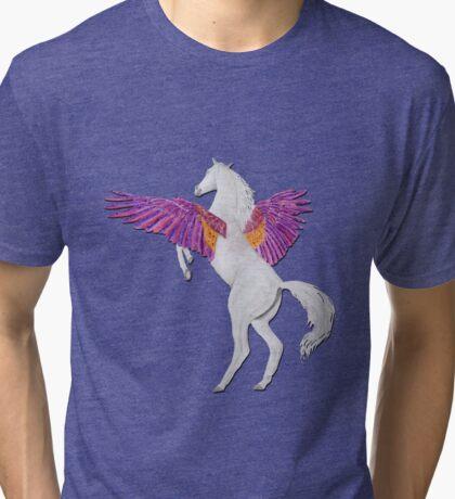 Pegasus - colour/Farbe 1 Tri-blend T-Shirt
