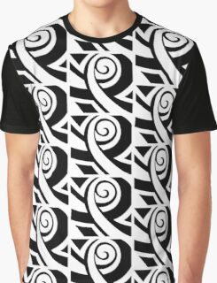 Curiously Serious Face Graphic T-Shirt