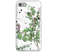 Culinary Herbs - Oregano iPhone Case/Skin