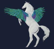 Pegasus - colour/Farbe 3 Kids Tee