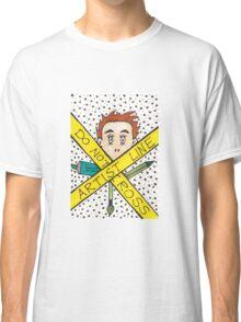 Artist Line Do Not Cross Classic T-Shirt