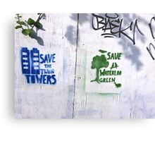Two on the Wall - large  Canvas Print