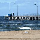 End of Jetty Altona Beach, Vic, Aust. by EdsMum