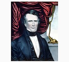 Franklin Pierce - Democratic candidate for fourteenth president of the United States - 1852 - Currier & Ives Unisex T-Shirt