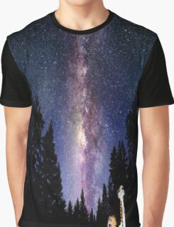 calvin and hobbes night Graphic T-Shirt