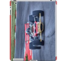 Lotus F1 - Type 49 - 1967/70 HDR iPad Case/Skin