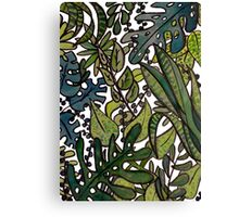 The Greenhouse Jungle Canvas Print