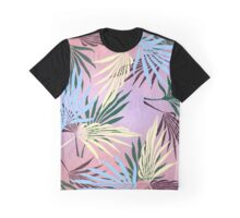 Pale Leaf Abstract Graphic T-Shirt
