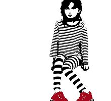 little red sneakers by carol brandt