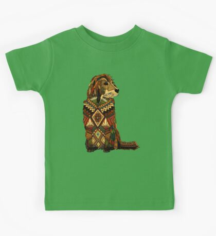 Golden Retriever dusk Kids Tee
