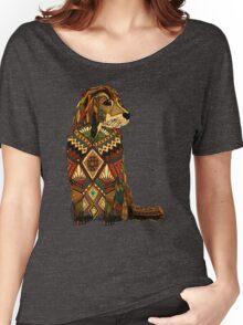 Golden Retriever dusk Women's Relaxed Fit T-Shirt