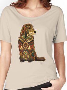 Golden Retriever ivory Women's Relaxed Fit T-Shirt