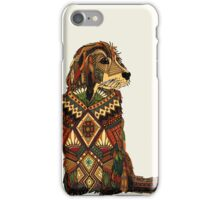 Golden Retriever ivory iPhone Case/Skin