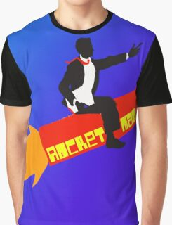 Rocket Man  Graphic T-Shirt