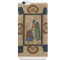Young Woman Offering Wine to a Sage iPhone Case/Skin