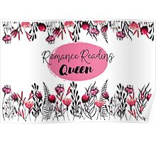 Romance Reading Queen Poster