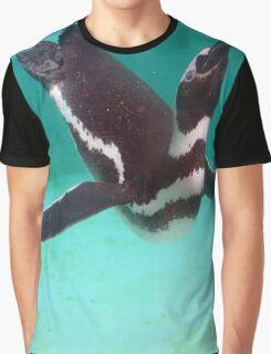 Penguin Swim  Graphic T-Shirt